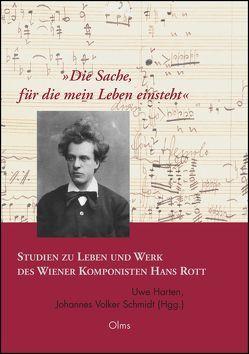 'Die Sache, für die mein Leben einsteht'. Studien zu Leben und Werk des Wiener Komponisten Hans Rott von Harten,  Uwe, Schmidt,  Johannes Volker