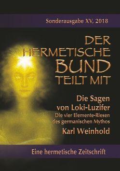 Die Sagen von Loki-Luzifer – Die vier Elemente-Riesen des germanischen Mythos von Weinhold,  Karl