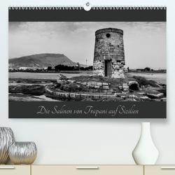 Die Salinen von Trapani auf Sizilien (Premium, hochwertiger DIN A2 Wandkalender 2020, Kunstdruck in Hochglanz) von Hogen,  Günter