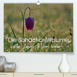 Die Schachbrettblume (Premium, hochwertiger DIN A2 Wandkalender 2021, Kunstdruck in Hochglanz) von Klapp,  Lutz