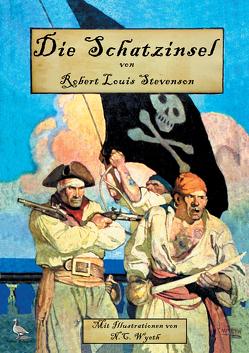 Die Schatzinsel von Stevenson,  Robert Louis, Wyeth,  Newell Convers