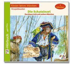 Die Schatzinsel 2CD von Baumann,  Andreas, Gunsch,  Elmar, Metz,  Sabine, Ulrich,  Manfred