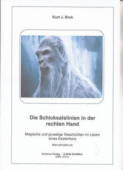 Die Schicksalslinien in der rechten Hand von Bruk,  Kurt Josef