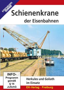Schienenkrane der Eisenbahnen