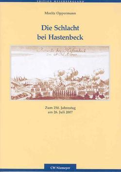 Die Schlacht bei Hastenbeck von Oppermann,  Moritz