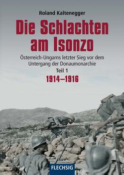 Die Schlachten am Isonzo von Kaltenegger,  Roland