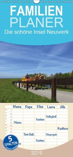 Die schöne Insel Neuwerk – Familienplaner hoch (Wandkalender 2019 <strong>21 cm x 45 cm</strong> hoch) von S. + J. Schröder,  AWS, Schroeder,  Susanne, Werbeagentur