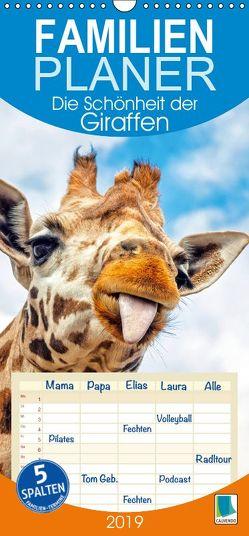 Die Schönheit der Giraffen (Wandkalender 2019 PRO_49_format hoch) von CALVENDO