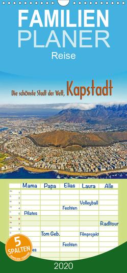 Die schönste Stadt der Welt, Kapstadt – Familienplaner hoch (Wandkalender 2020 , 21 cm x 45 cm, hoch) von Tangermann,  Franz