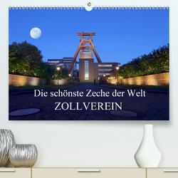 Die schönste Zeche der Welt Zollverein (Premium, hochwertiger DIN A2 Wandkalender 2021, Kunstdruck in Hochglanz) von Joecks,  Armin