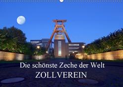 Die schönste Zeche der Welt Zollverein (Wandkalender 2019 DIN A2 quer) von Joecks,  Armin