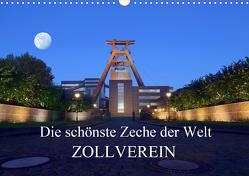 Die schönste Zeche der Welt Zollverein (Wandkalender 2021 DIN A3 quer) von Joecks,  Armin