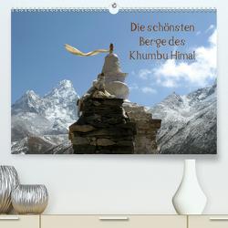 Die schönsten Berge des Khumbu Himal (Premium, hochwertiger DIN A2 Wandkalender 2021, Kunstdruck in Hochglanz) von Albicker,  Gerhard