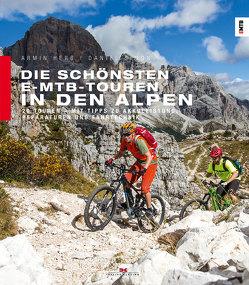Die schönsten E-MTB-Touren in den Alpen von Herb,  Armin, Simon,  Daniel