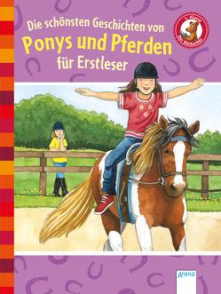 Die schönsten Geschichten von Ponys und Pferden für Erstleser von Berger,  Margot, Bosse,  Sarah, Ebert,  Anne, Krautmann,  Milada, Mai,  Manfred