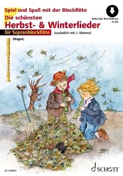 Die schönsten Herbst- und Winterlieder von Estenfeld-Kropp,  Christa, Magolt,  Hans, Magolt,  Marianne, Roelcke,  Christa