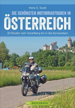 Die schönsten Motorradtouren Österreich von Studt,  Heinz E.
