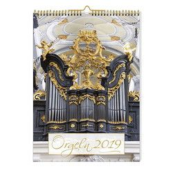 Orgeln 2019 Kalender mit CD von Bauch,  Volker, Heckl,  Stefanie