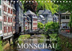 Die schönsten Orte der Eifel – Monschau / Geburtstagskalender (Tischkalender 2018 DIN A5 quer) von Klatt,  Arno