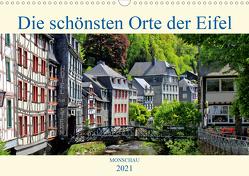 Die schönsten Orte der Eifel – Monschau (Wandkalender 2021 DIN A3 quer) von Klatt,  Arno