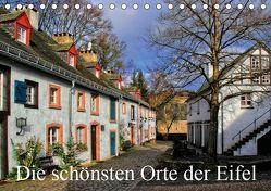 Die schönsten Orte der Eifel (Tischkalender 2019 DIN A5 quer)
