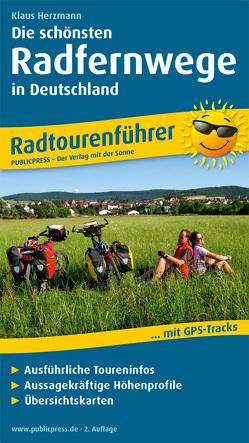 Die schönsten Radfernwege in Deutschland von Herzmann,  Klaus