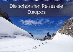 Die schönsten Reiseziele Europas (Wandkalender 2018 DIN A2 quer) von Card-Photo,  k.A.