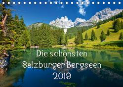 Die schönsten Salzburger BergseenAT-Version (Tischkalender 2019 DIN A5 quer) von Kramer,  Christa