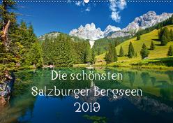 Die schönsten Salzburger BergseenAT-Version (Wandkalender 2019 DIN A2 quer) von Kramer,  Christa