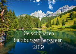 Die schönsten Salzburger BergseenAT-Version (Wandkalender 2019 DIN A3 quer) von Kramer,  Christa