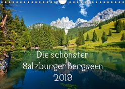 Die schönsten Salzburger BergseenAT-Version (Wandkalender 2019 DIN A4 quer) von Kramer,  Christa