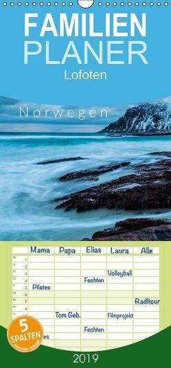 Die schönsten Strände der Lofoten – Norwegen – Familienplaner hoch (Wandkalender 2019 , 21 cm x 45 cm, hoch) von Gospodarek,  Mikolaj