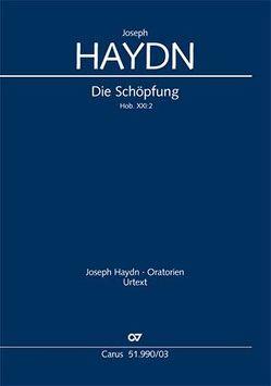 Die Schöpfung (Klavierauszug deutsch) von Haydn,  Joseph