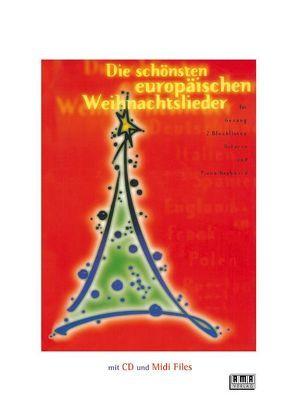 Die schönsten europäischen Weihnachtslieder von Windolph,  Brigitte