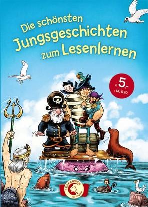 Die schönsten Jungsgeschichten zum Lesenlernen von Gehm,  Franziska, THiLO
