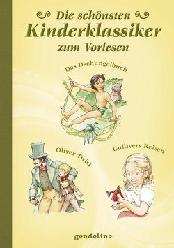 Die schönsten Kinderklassiker – zum Vorlesen,  Das Dschungelbuch/Oliver Twist/Gullivers Reisen von Krautmann,  Milada