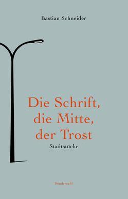 Die Schrift, die Mitte, der Trost von Schneider,  Bastian