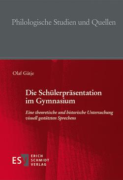 Die Schülerpräsentation im Gymnasium von Gätje,  Olaf
