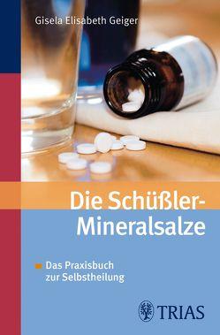 Die Schüssler-Mineralsalze von Geiger,  Gisela-Elisabeth, Literatur- und Medienagentur Ulrich Pöppl