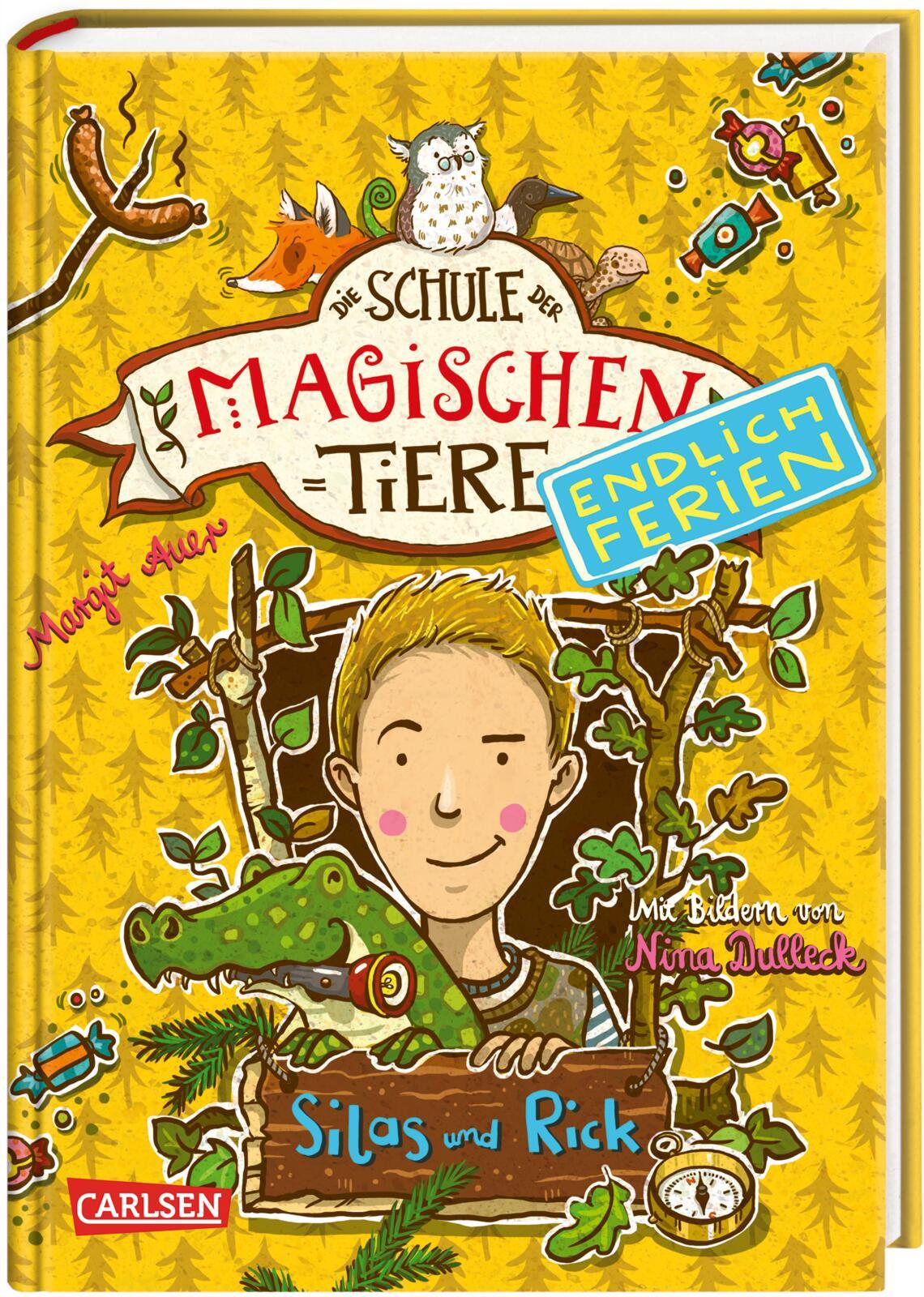 Die Schule der magischen Tiere – Endlich Ferien 2 Silas und Rick von Auer