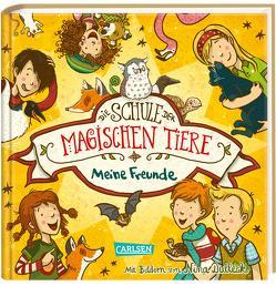 Die Schule der magischen Tiere: Meine Freunde (Freundebuch) von Auer,  Margit, Dulleck,  Nina