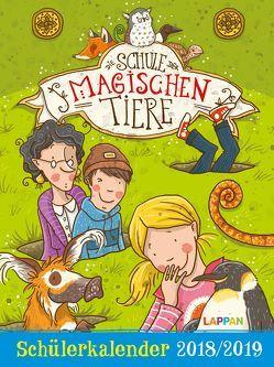 Die Schule der magischen Tiere Schülerkalender 2018/2019 von Auer,  Margit, Dulleck,  Nina