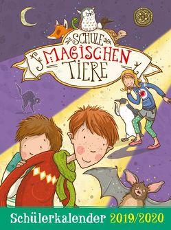 Die Schule der magischen Tiere Schülerkalender 2019/2020 von Auer,  Margit, Dulleck,  Nina