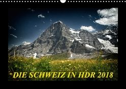 Die Schweiz in HDR 2018CH-Version (Wandkalender 2018 DIN A3 quer) von (Giger Daniel),  DaG