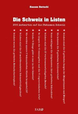 Die Schweiz in Listen von Bertschi,  Hannes