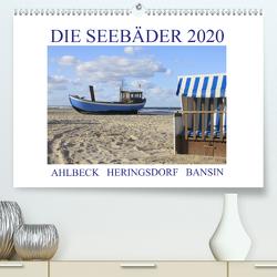 Die Seebäder 2020 (Premium, hochwertiger DIN A2 Wandkalender 2020, Kunstdruck in Hochglanz) von Fuchs,  Susanne