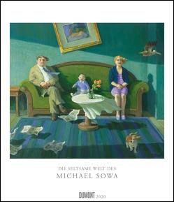 Die seltsame Welt des Michael Sowa 2020 – Wandkalender im Format 34,5 x 40 cm – Spiralbindung von DUMONT Kalenderverlag, Sowa,  Michael