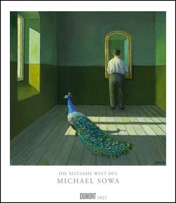 Die seltsame Welt des Michael Sowa 2021 – Vom Meister der komischen Kunst – Wandkalender im Format 34,5 x 40 cm – Spiralbindung von Sowa,  Michael