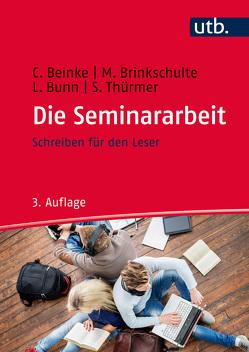 Die Seminararbeit von Beinke,  Christiane, Brinkschulte,  Melanie, Bunn,  Lothar, Thürmer,  Stefan