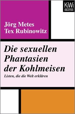 Die sexuellen Phantasien der Kohlmeisen von Metes,  Jörg, Rubinowitz,  Tex